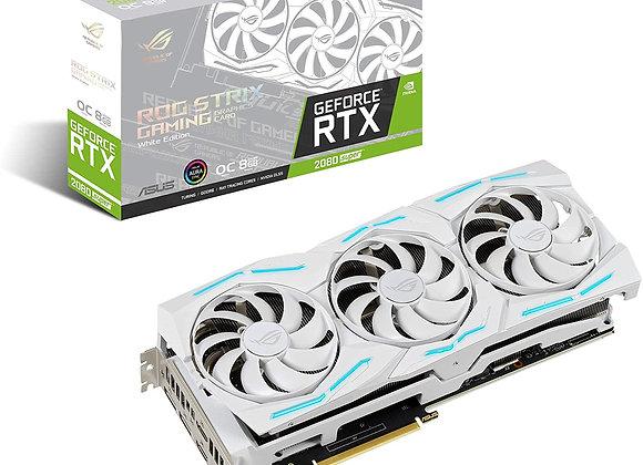 ASUS ROG Strix White GeForce RTX 2080 Super Overclocked Triple-Fan 8GB GDDR6 PCI