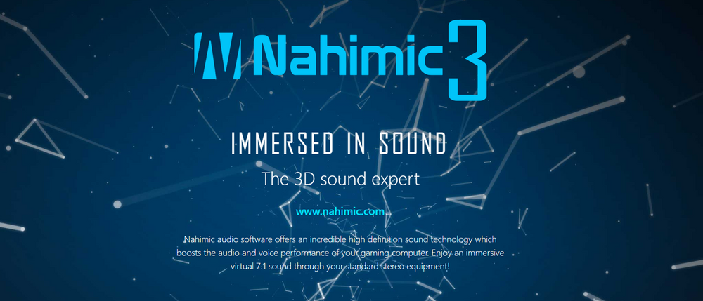 Get Clear with Nahimic 3