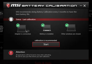 Work your way with MSI Dragon Center 2 0
