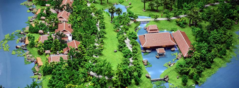 NGOC VIEN ISLAND, HANOI, VIETNAM