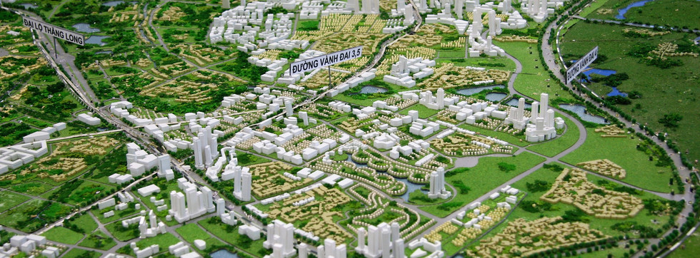 HANOI EXTENTION MASTER PLAN TO 2050