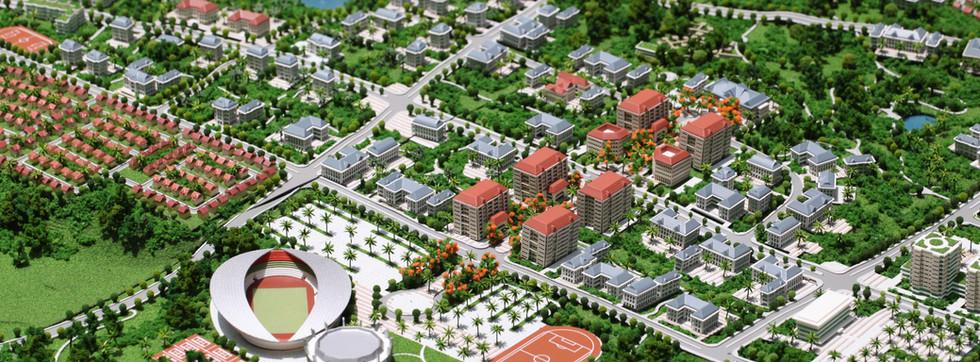 Thadluang Master Plan of Nikken Sekkei,