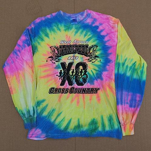 Long Sleeve Tye Dye T Shirt