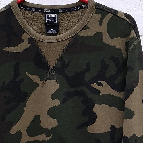 Nike Camo Sweatshirt