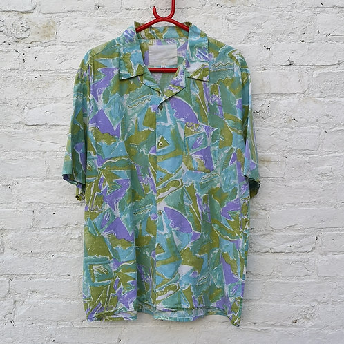90's Crazy Pattern Shirt