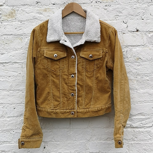 Fleece / Quilted Sherpa Corduroy Jacket