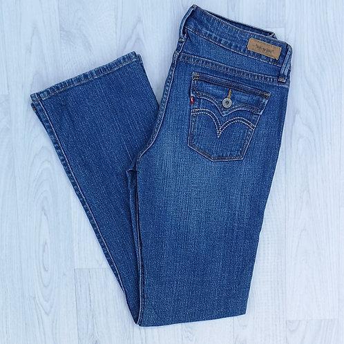 """Levi's 545 Low Boot Cut Jeans - 30"""" Waist"""