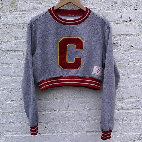 USA Champion Crop Sweatshirt