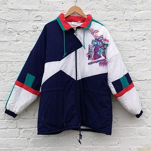 Vintage 1990's  Padded Ski Jacket