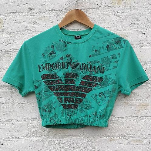 Armani Crop T Shirt