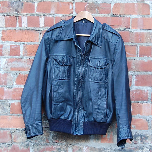 Vintage 1970's Leather Jacket
