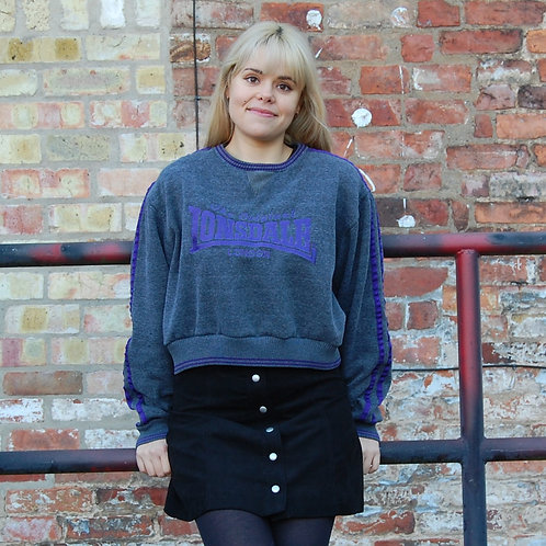 Lonsdale Crop Sweatshirt