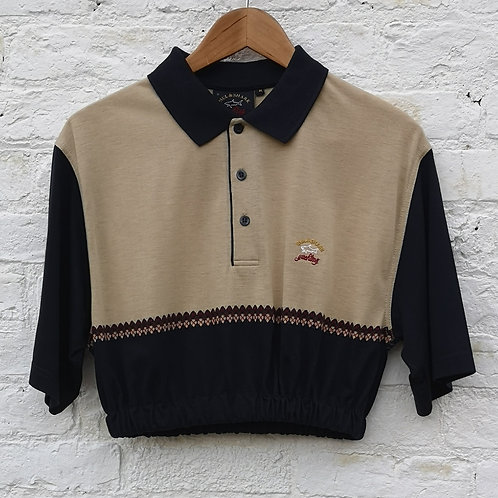 Paul & Shark Crop Polo Shirt