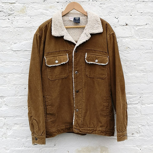 Fleece / Quilted Sherpa Corduroy Jacket