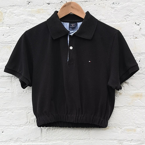 Tommy Hilfiger Crop Polo Shirt