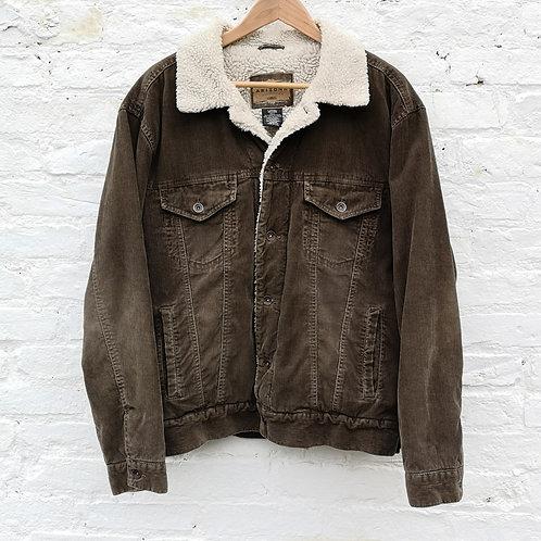 Fleece Sherpa Corduroy Jacket
