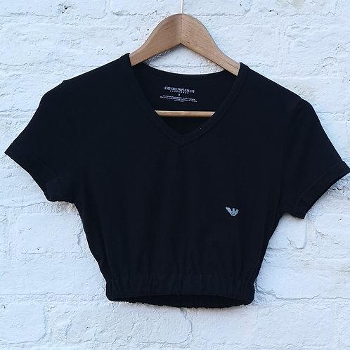 Armani CropT Shirt