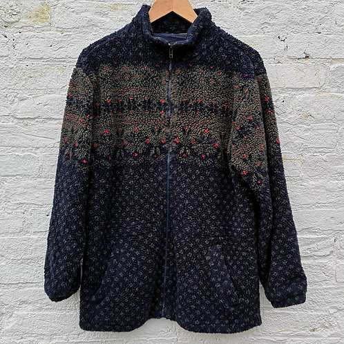 Abstract Pattern Fleece