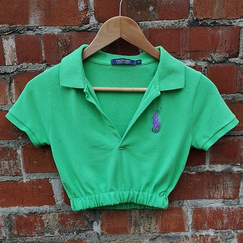 Ralph Lauren Crop Polo Shirt