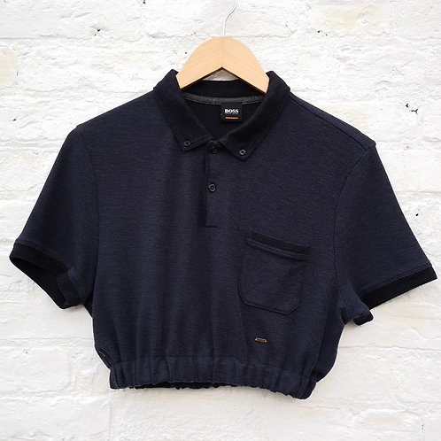 Hugo Boss Crop Polo Shirt