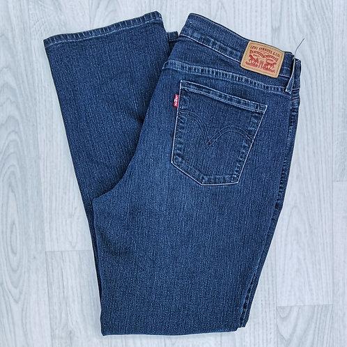 "Levi's 505 Straight Jeans - 32"" Waist"