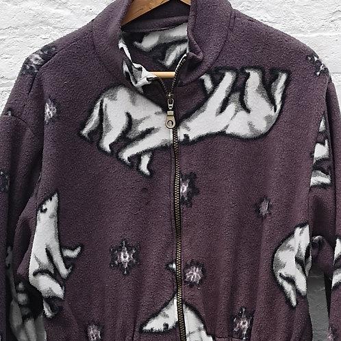 Polar Bear Patterned Fleece