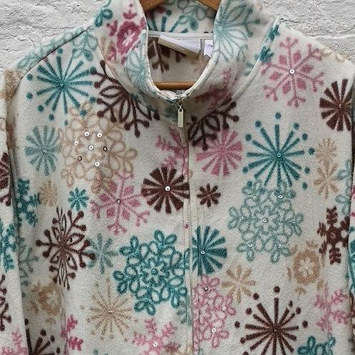 Snowflake Pattern Fleece