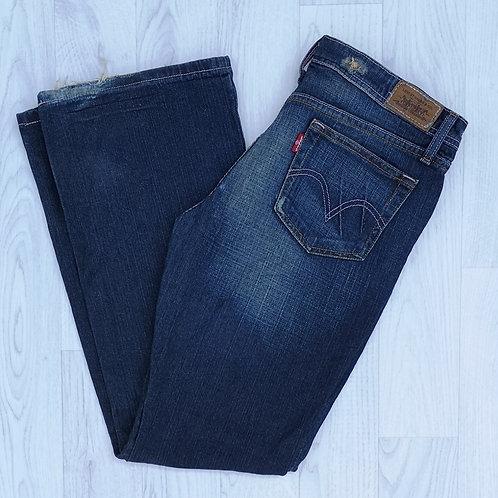 """Levi's 518 Super Low Boot Cut Jeans - 32"""" Waist"""