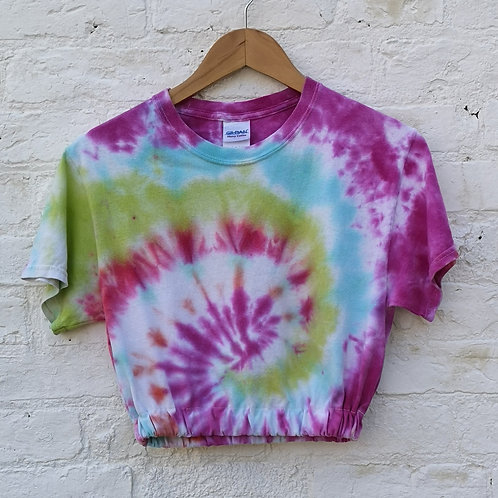 Crop Tye Dye T Shirt