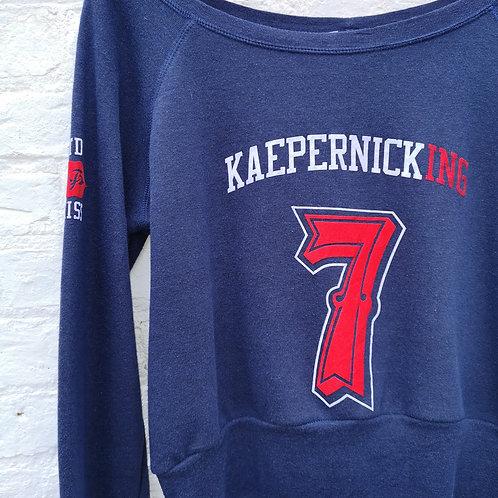 USA Kaepernick Crop Sweatshirt