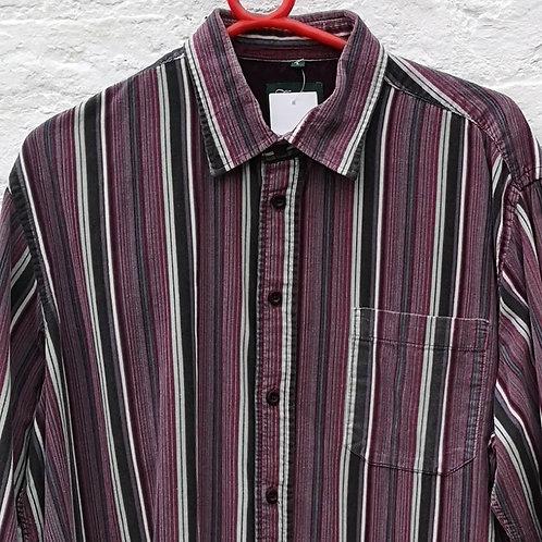 Corduroy Stripe Print Shirt