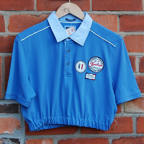 Cropped Pierre Cardin Polo Shirt