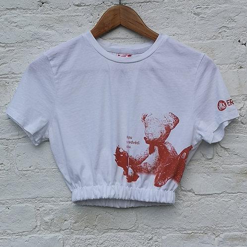 Cropped Puma  t Shirt