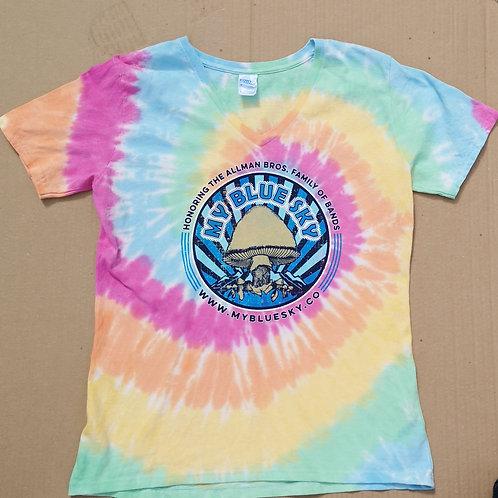 Tye Dye T Shirt My Blue Sky