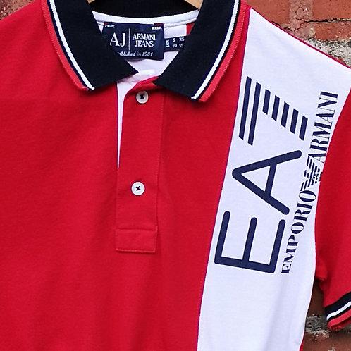 Armani Crop Polo Shirt