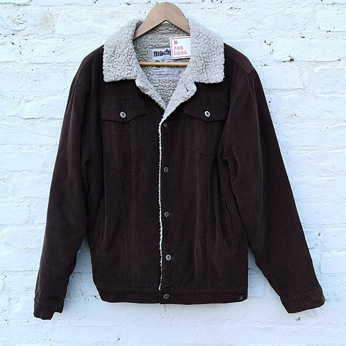 Fleece Sherpa Corduroy Jacket