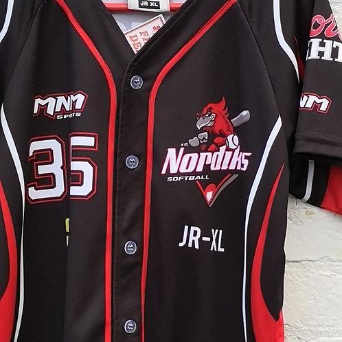 Nordiks Softball Youth Jersey