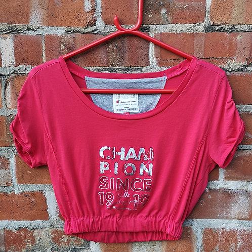 Champion crop t shirt