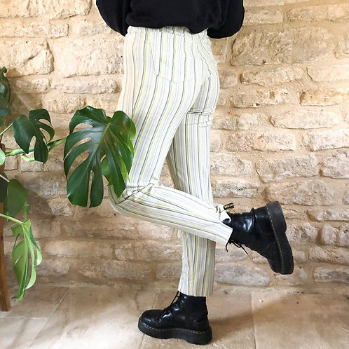 Striped 1990's Trousers