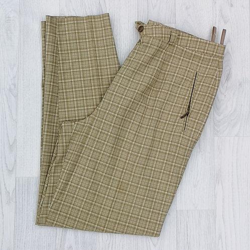 Ladies Check Pants