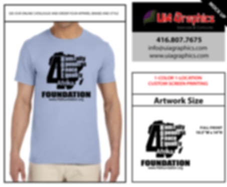 screen printed t-shirt 1 color | uia graphics