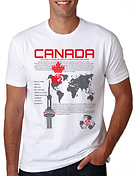 Canada T-shirts, Toronto T-shirts, Printed T-shirts