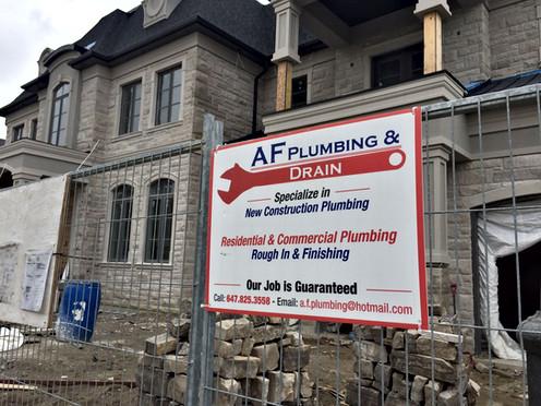 AF Plumbing and Drain | Brampton