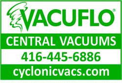 Vacuflo Sign | Screen Print