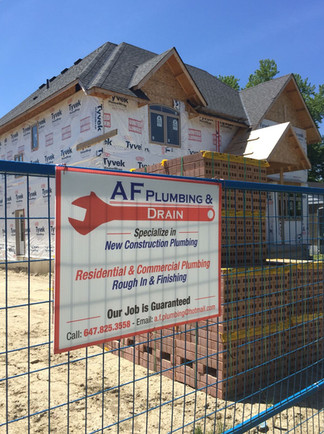 Residential | AF Plumbing and Drain