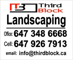 Third Block Sign | UiA Graphics