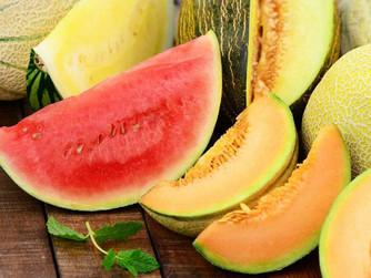 Beneficios del melón y la sandía