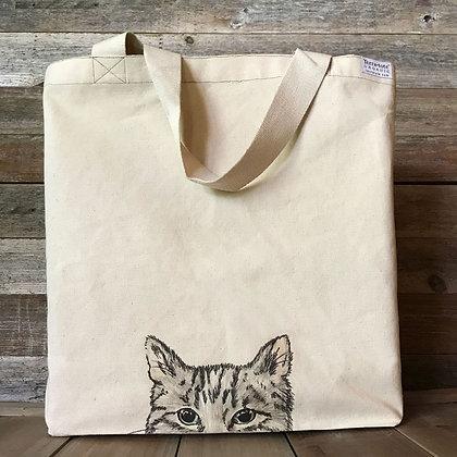 Curious Cat Tote