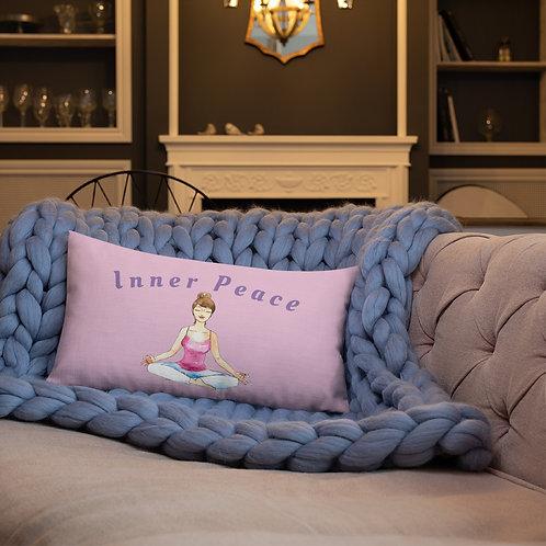 Inner Peace Premium Pillow - Pink