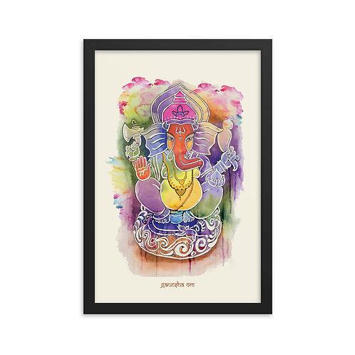 Lord Ganesha Framed poster